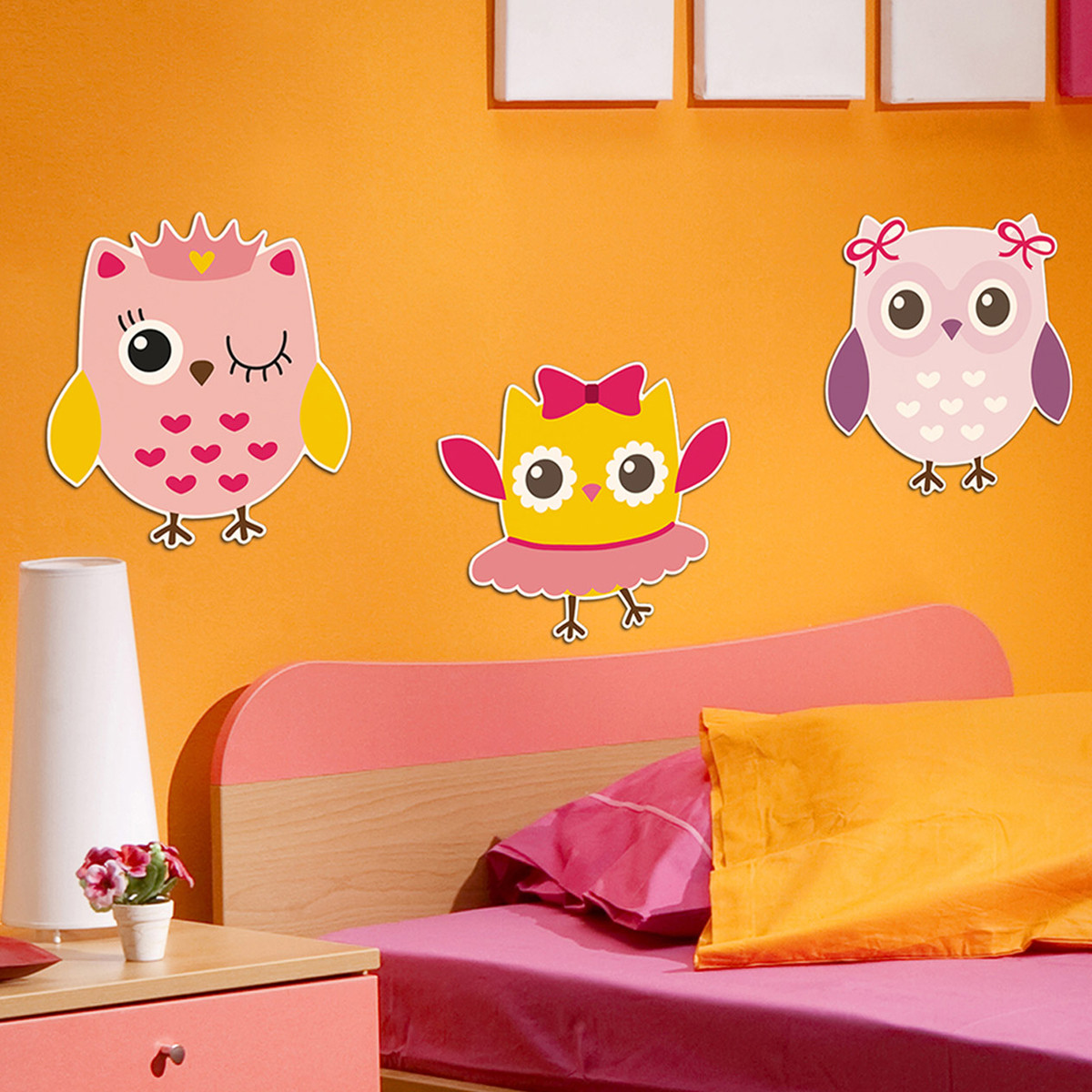 Παιδικά Αφρώδη Αυτοκόλλητα Τοίχου Ango Owls 11209 home   παιδικά   παιδική διακόσμηση