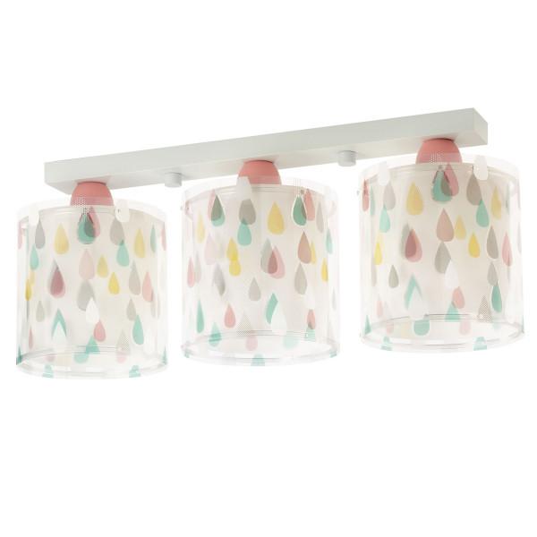 Παιδικό Φωτιστικό Οροφής Τρίφωτο Ango Rain Color 41433