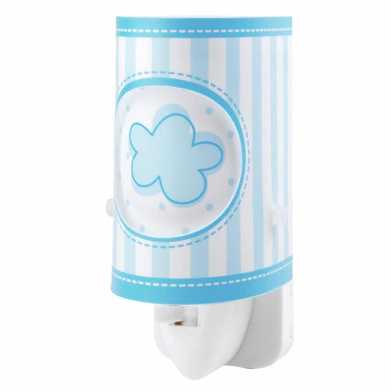 Παιδικό Φωτάκι Νυκτός Led Ango Sweet Light Blue 63222 L