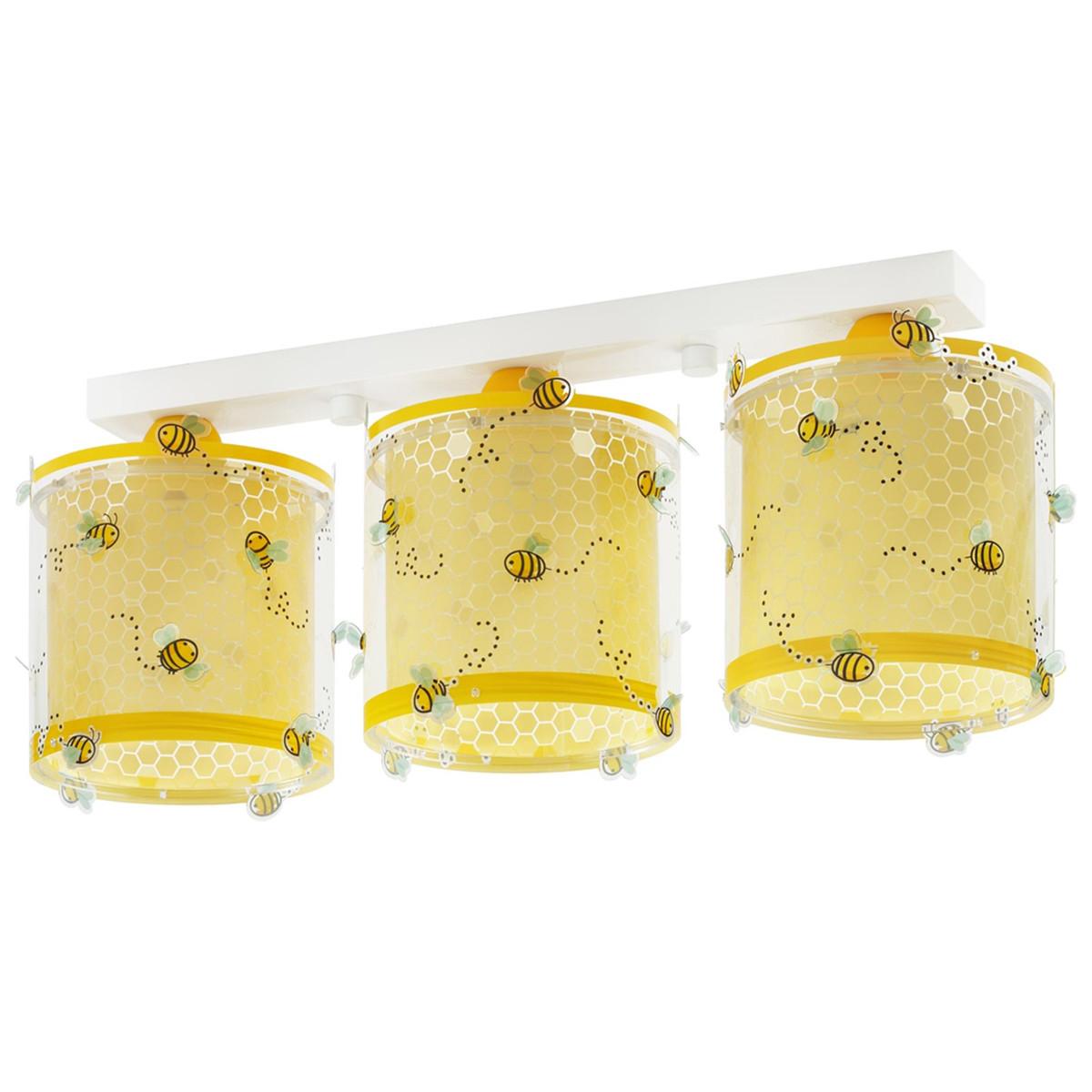 Παιδικό Φωτιστικό Οροφής Τρίφωτο Ango Bee Happy 71093