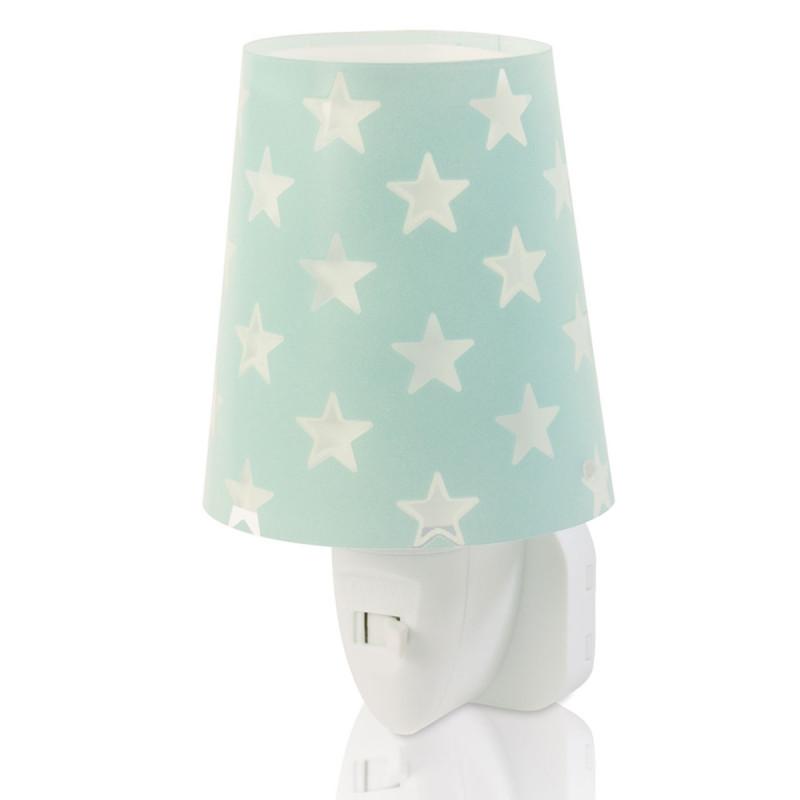 Παιδικό Φωτάκι Νυκτός Led Ango Stars Green 81215 H