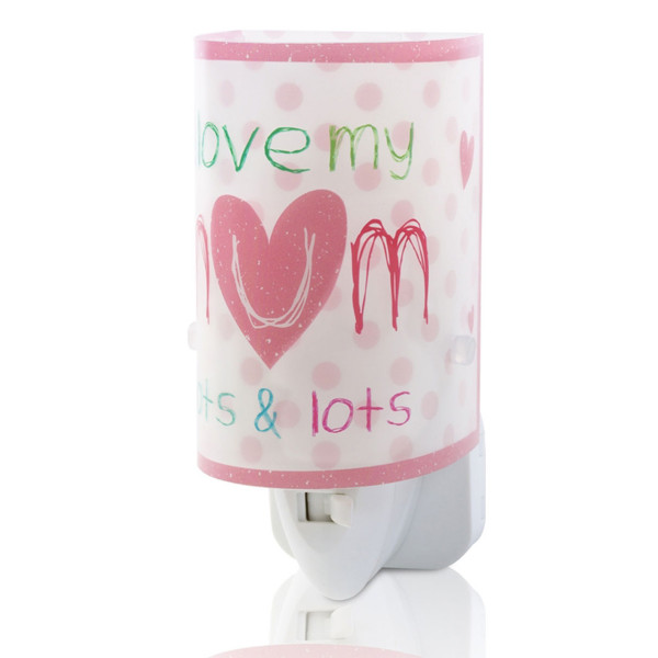 Παιδικό Φωτάκι Νυκτός Led Ango Mum Pink 92811