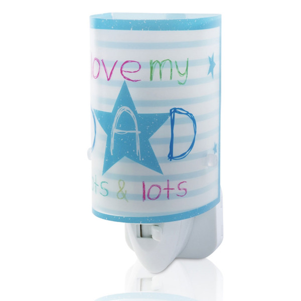 Παιδικό Φωτάκι Νυκτός Led Ango Dad Blue 92812