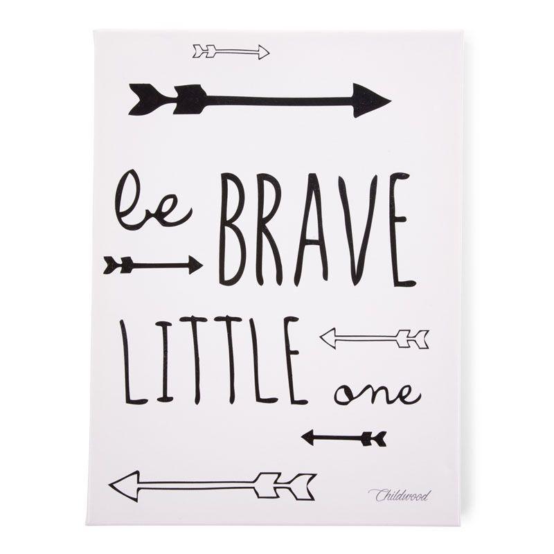 Κάδρο ChildHome Be Brave Little One 71402