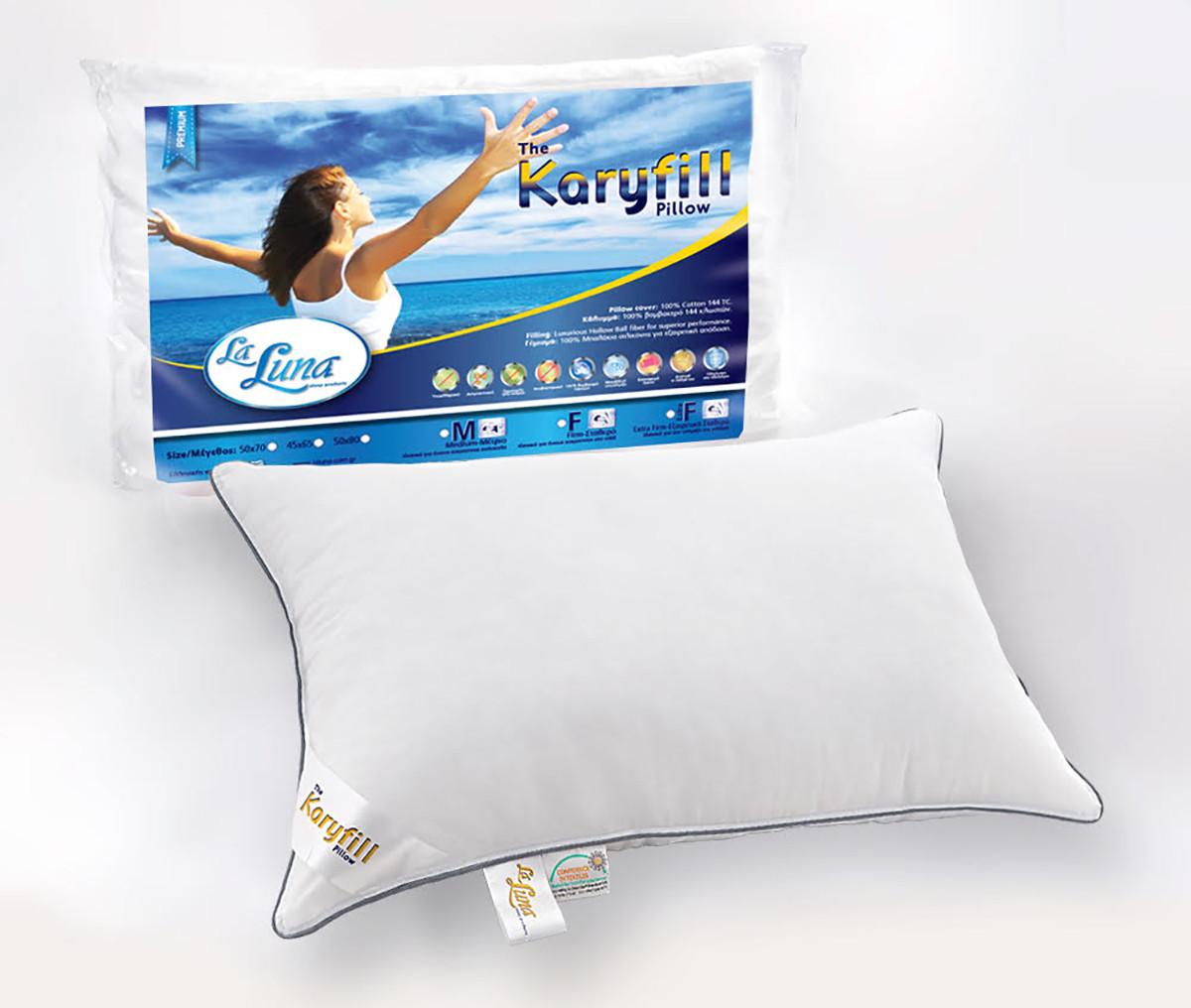 Μαξιλάρι Ύπνου (50x70) La Luna New Karyfill Firm home   κρεβατοκάμαρα   μαξιλάρια   μαξιλάρια ύπνου