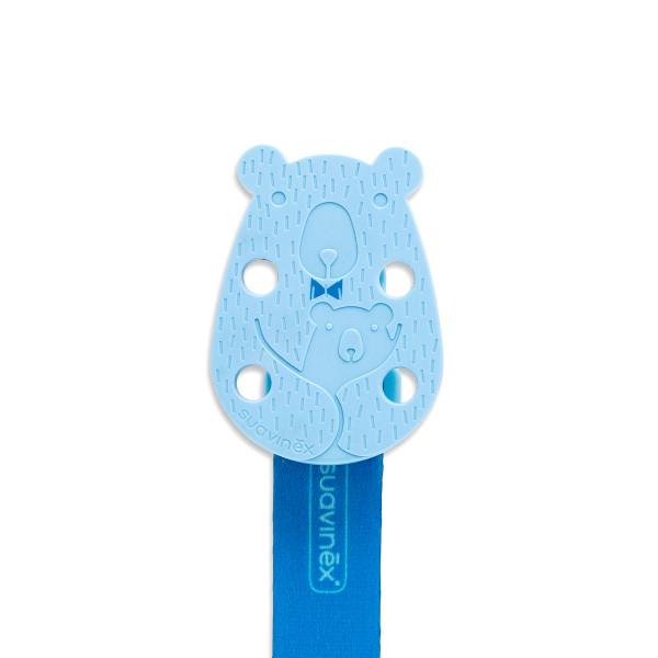 Κλιπ Πιπίλας Suavinex Bear Blue