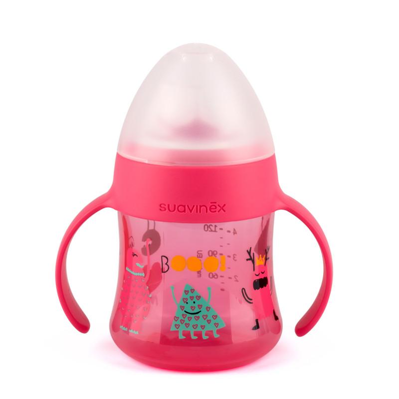 Ποτήρι Εκπαιδευτικό 150ml Suavinex Booo! Pink