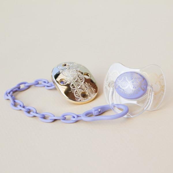 Κλιπ Πιπίλας Suavinex H.Couture Lilac