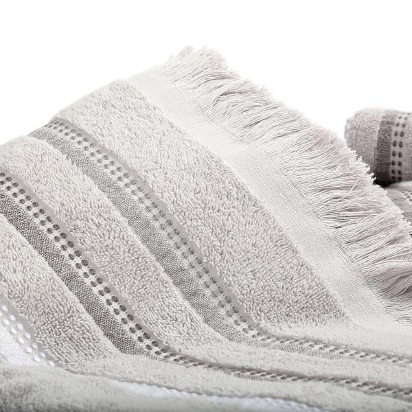 Πετσέτες Μπάνιου (Σετ 3τμχ) Nef-Nef Limit Grey