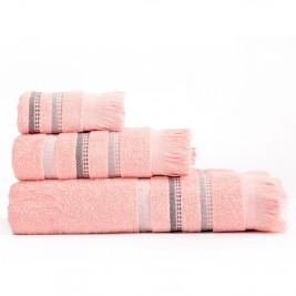 Πετσέτες Μπάνιου (Σετ 3τμχ) Nef-Nef Limit Pink
