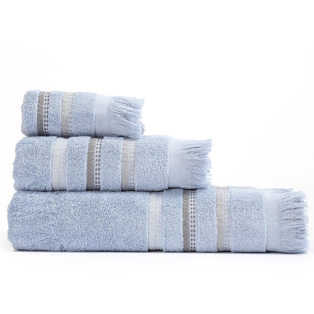 Πετσέτες Μπάνιου (Σετ 3τμχ) Nef-Nef Limit Blue