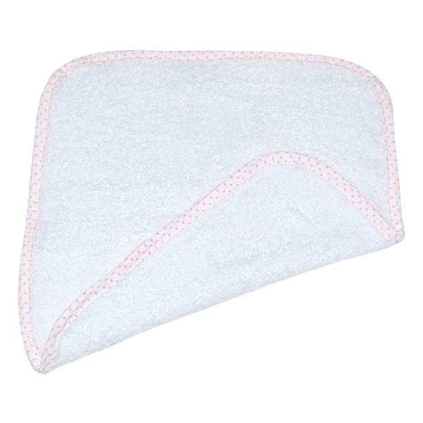 Βρεφική Λαβέτα (30x30) Κόσμος Του Μωρού 0636 Πουά Ροζ