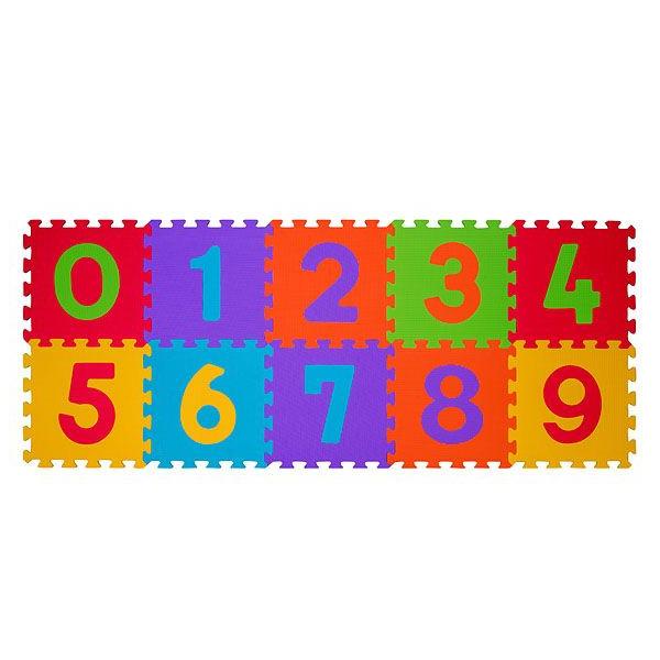 Αφρώδες Παζλ Δαπέδου (Σετ 10τμχ) BabyOno Αριθμοί BN274