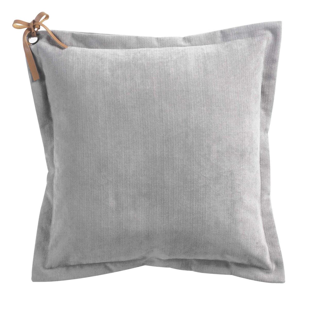 Διακοσμητικό Μαξιλάρι (40×40) Veloutine Gris 1608136