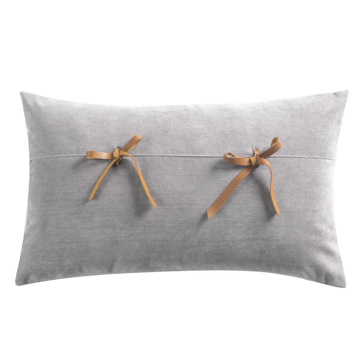 Διακοσμητικό Μαξιλάρι (30×50) Veloutine Gris 1608130