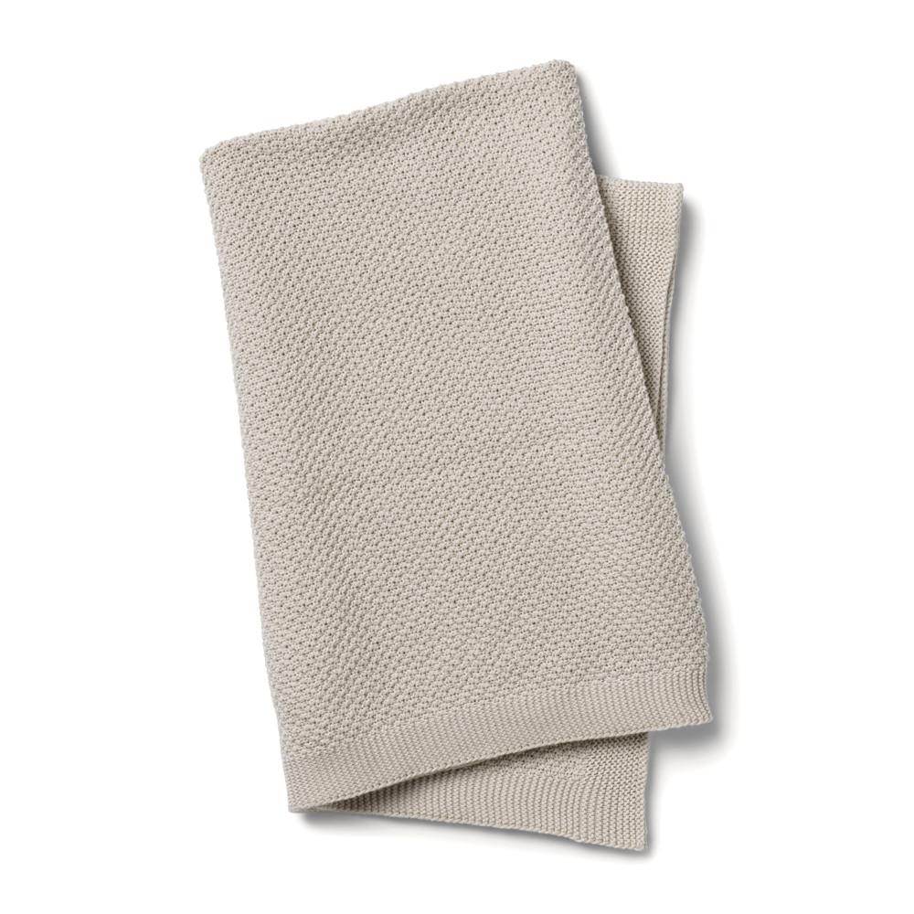 Κουβέρτα Πλεκτή Αγκαλιάς Elodie Details Greige BR73650