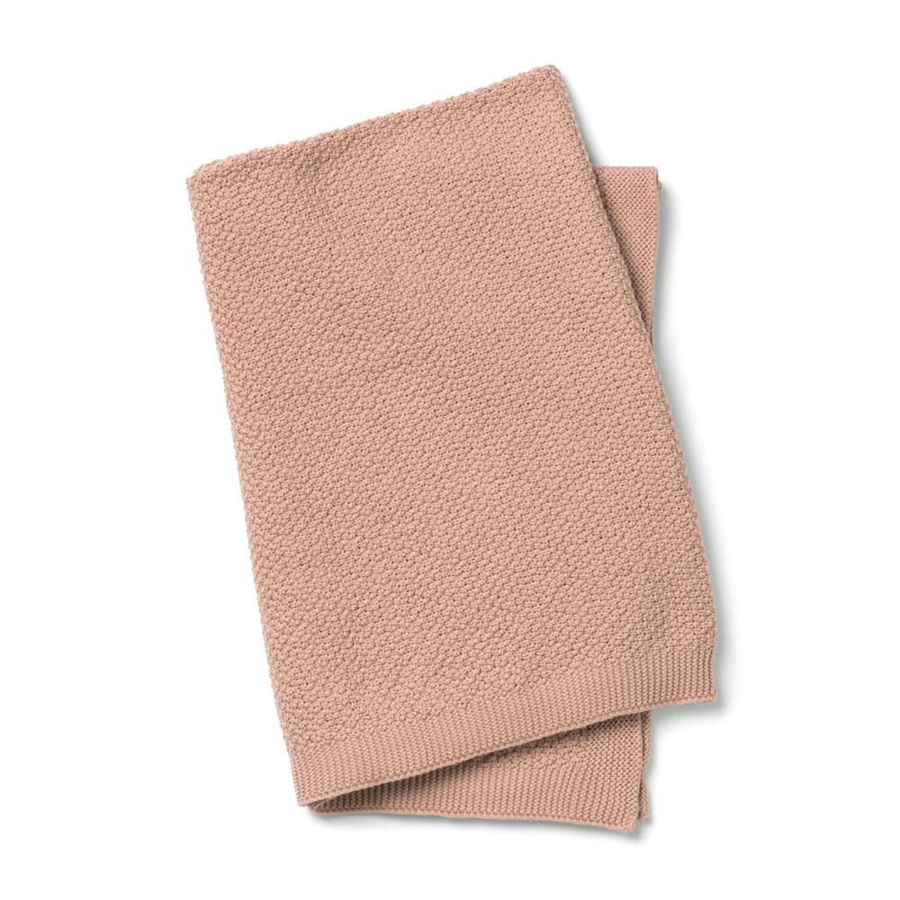 Κουβέρτα Πλεκτή Αγκαλιάς Elodie Faded Rose BR73649