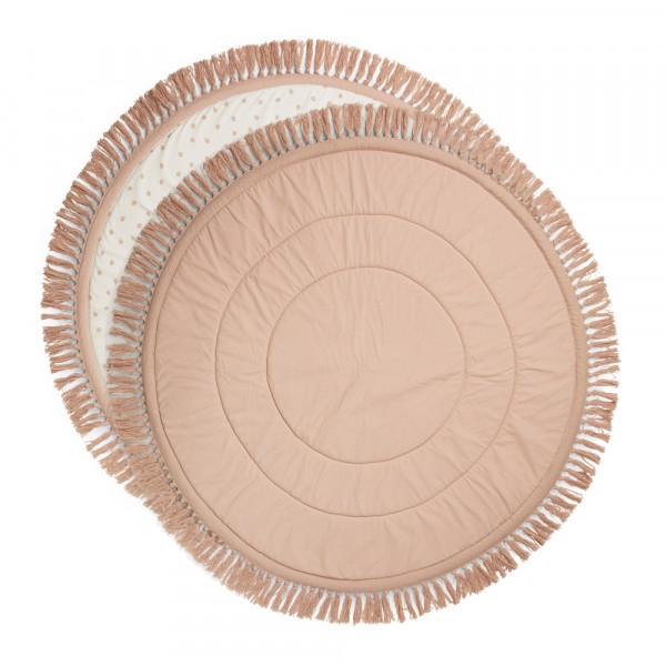 Μαλακό Στρώμα Παιχνιδιού Elodie Powder Pink Fringe BR73679