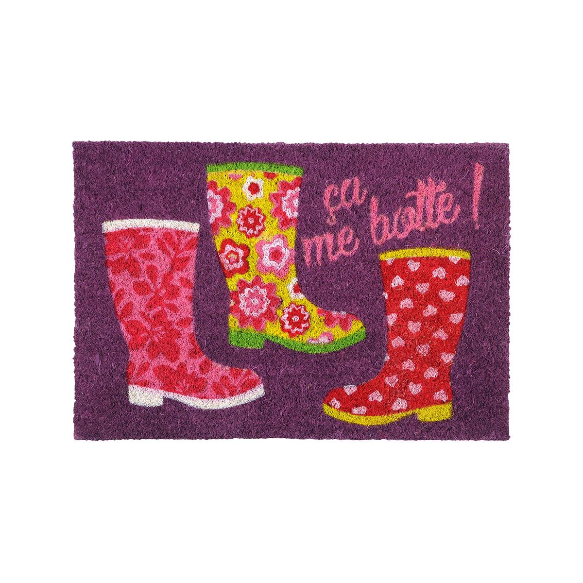 Πατάκι Εισόδου (40×60) Bottes Violet PA18802001
