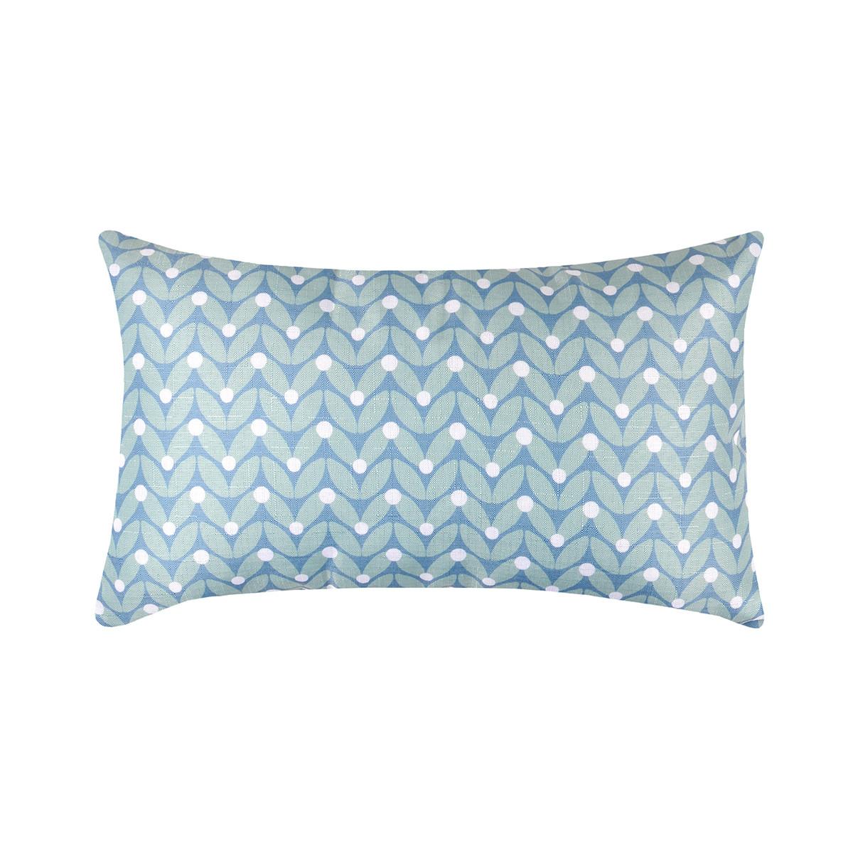 Διακοσμητικό Μαξιλάρι (30×50) Duoma Bleu C32304002