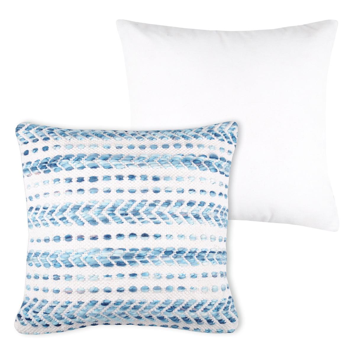 Διακοσμητικό Μαξιλάρι (40×40) Knit Blanc C02424002