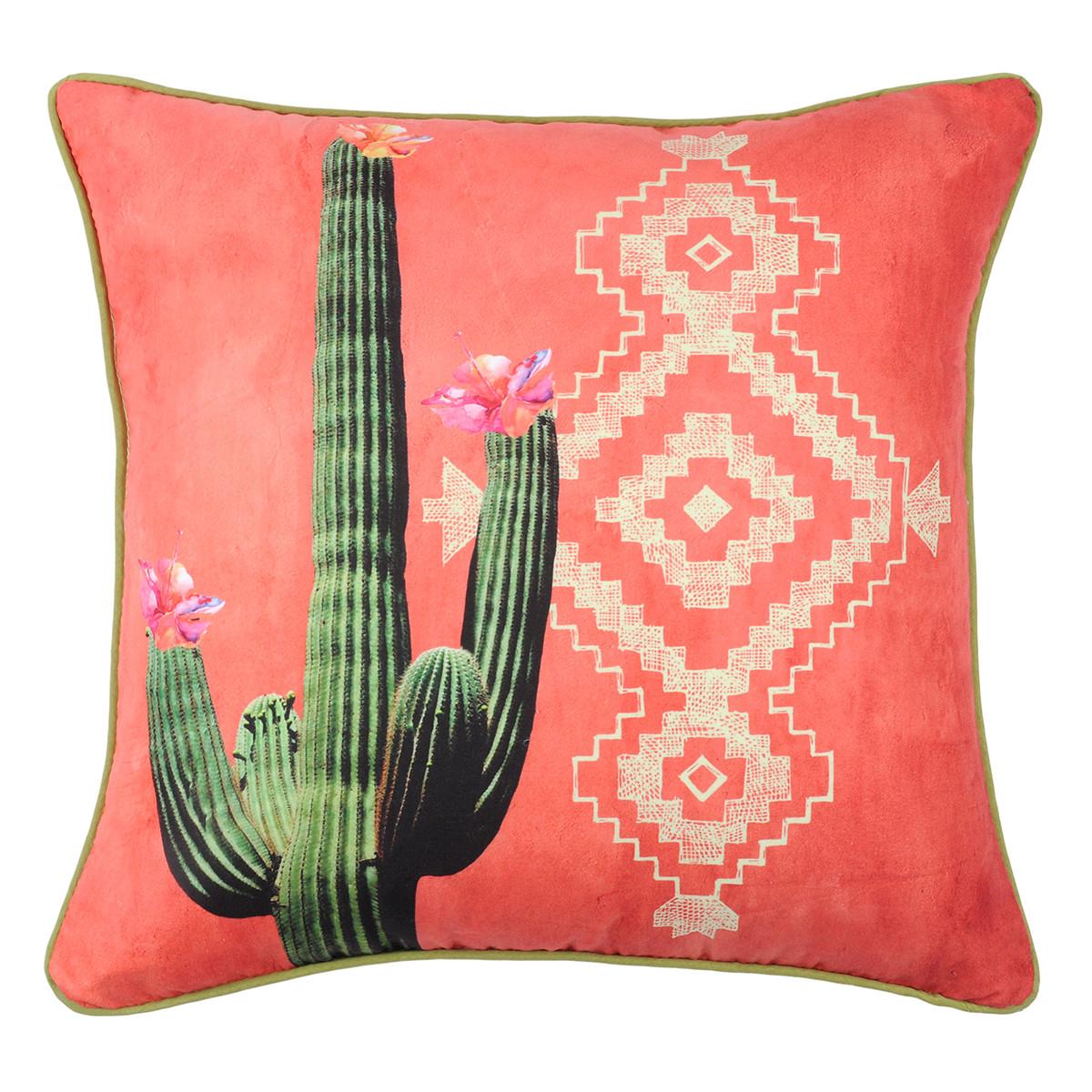 Διακοσμητικό Μαξιλάρι (40×40) Mexico Cactus C0A004002