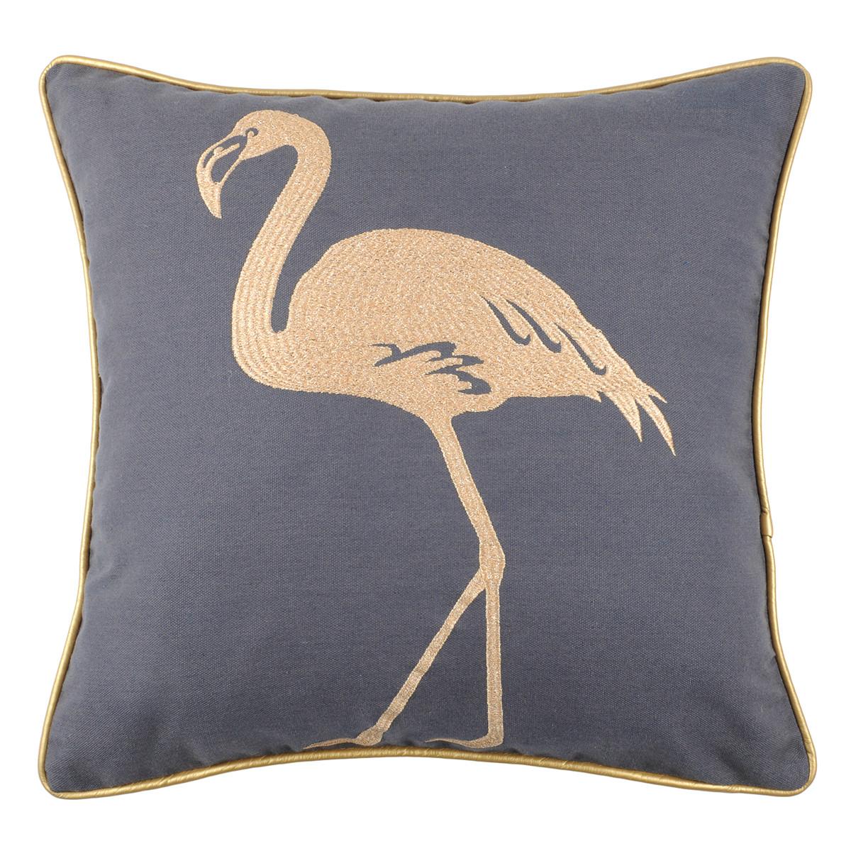 Διακοσμητικό Μαξιλάρι (45×45) Flamingo Anthracite C0A026003