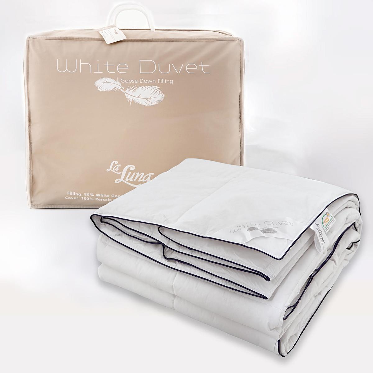 Πάπλωμα Πουπουλένιο Μονό La Luna White Duvet 80/20 home   κρεβατοκάμαρα   παπλώματα   παπλώματα πουπουλένια