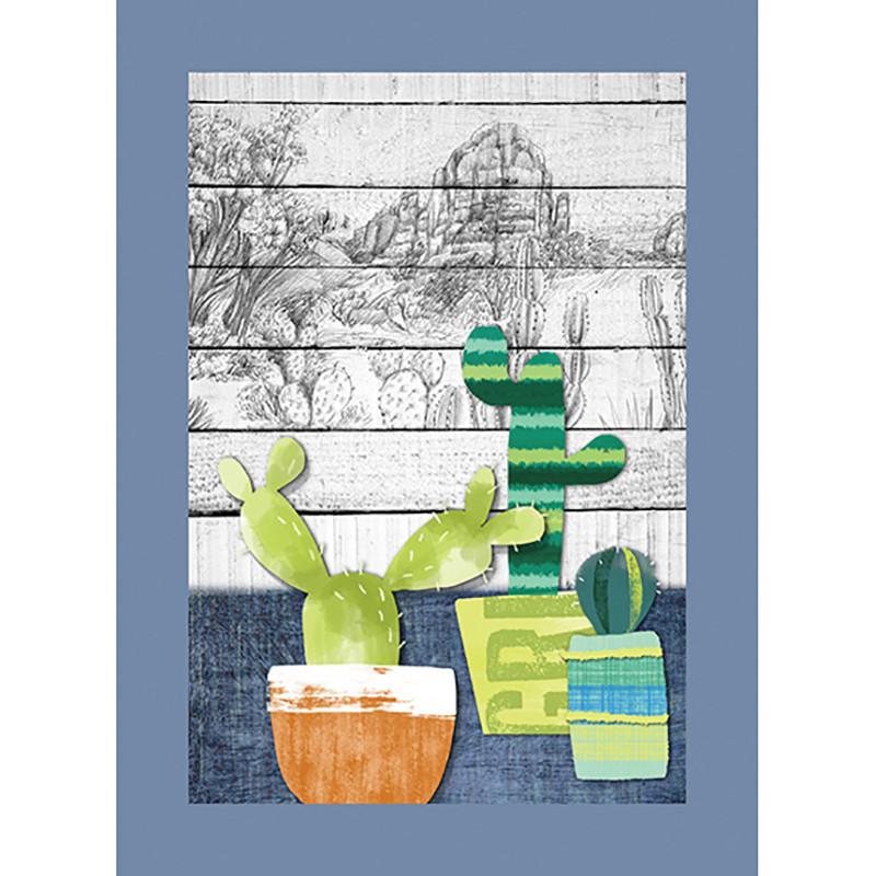 Ποτηρόπανο Cactus 2