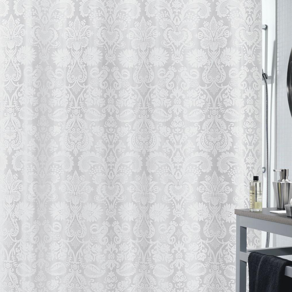 Κουρτίνα Μπάνιου (180×200) Spirella 02302.002 Fortuna Pearl Grey