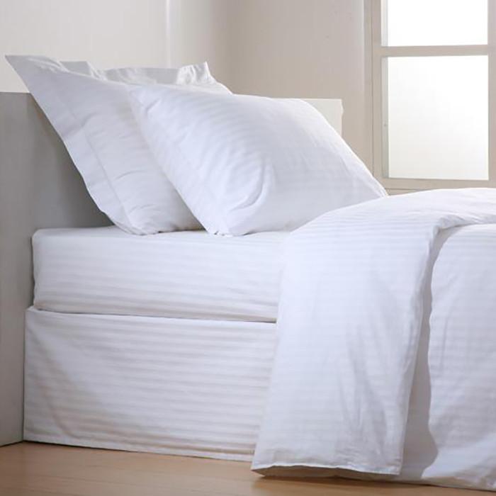 Σεντόνι (180x280) Stripe 60%Βαμβάκι 40%Polyester T240 home   επαγγελματικός εξοπλισμός   ξενοδοχειακός εξοπλισμός   σεντόνια ξενοδοχεί
