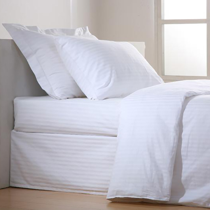 Σεντόνι (280x290) Stripe 60%Βαμβάκι 40%Polyester T240 home   επαγγελματικός εξοπλισμός   ξενοδοχειακός εξοπλισμός   σεντόνια ξενοδοχεί
