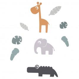 Παιδικά Αυτοκόλλητα Τοίχου  Done By Deer Tiny Tropics BR73917