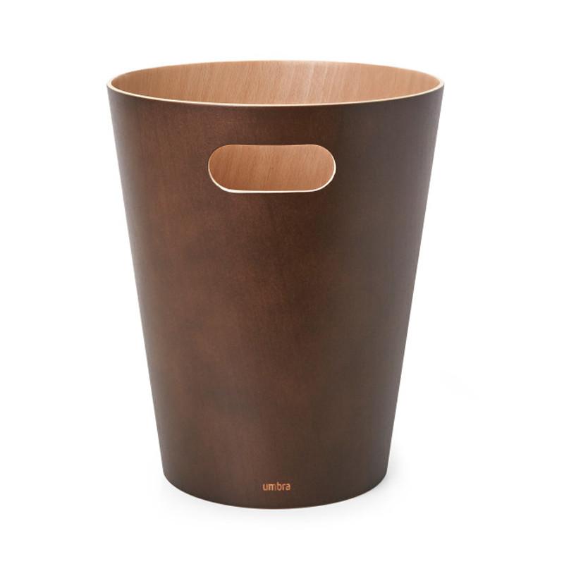 Καλάθι Απορριμμάτων (23×28) Umbra 7.5Lit Woodrow Espresso 082780-213