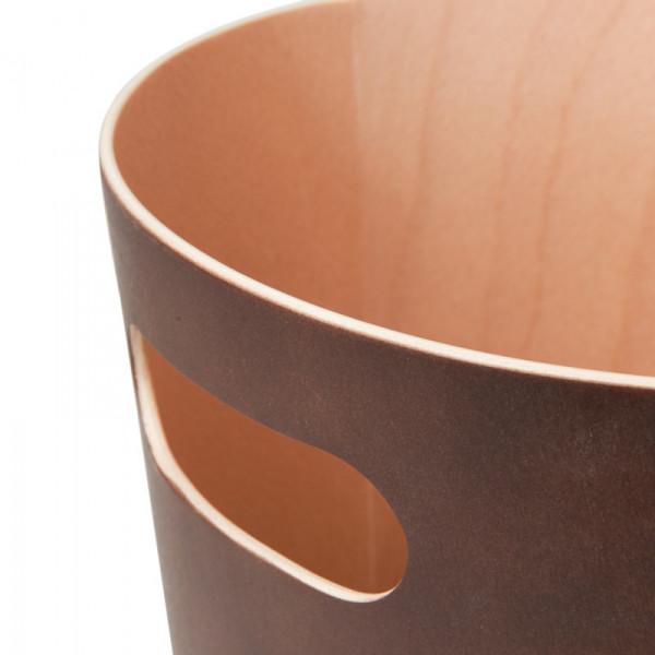 Καλάθι Απορριμμάτων (23x28) Umbra Woodrow Espresso 082780-213