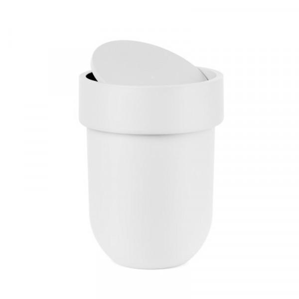 Κάδος Απορριμμάτων (19x26) Umbra Touch White 023269-660