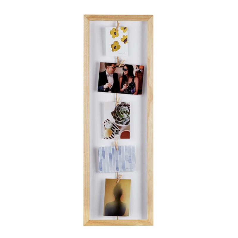 Κορνίζα Umbra Clothesline Flip Natural 311020-390