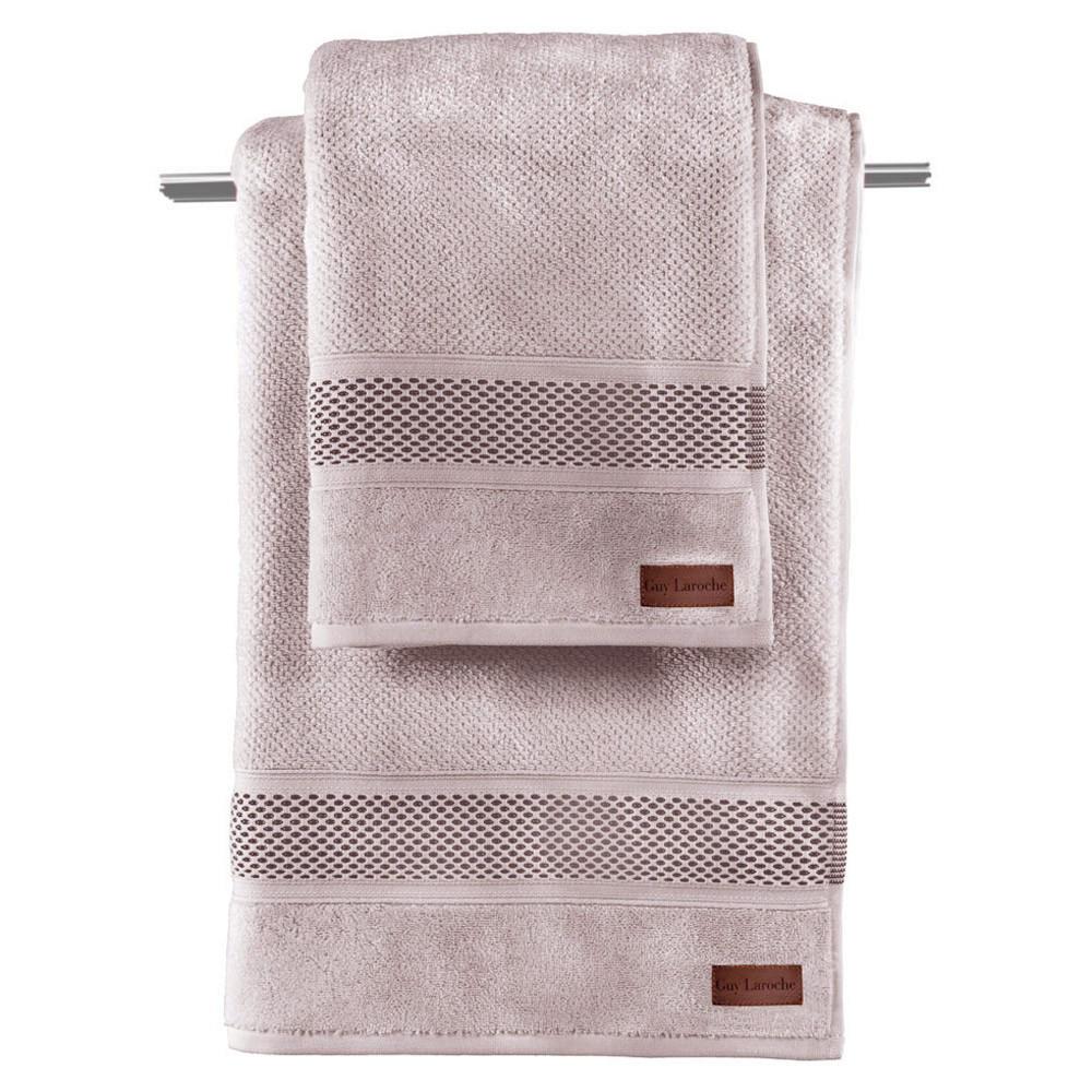 Πετσέτα Προσώπου (50x90) Guy Laroche Snow Pudra