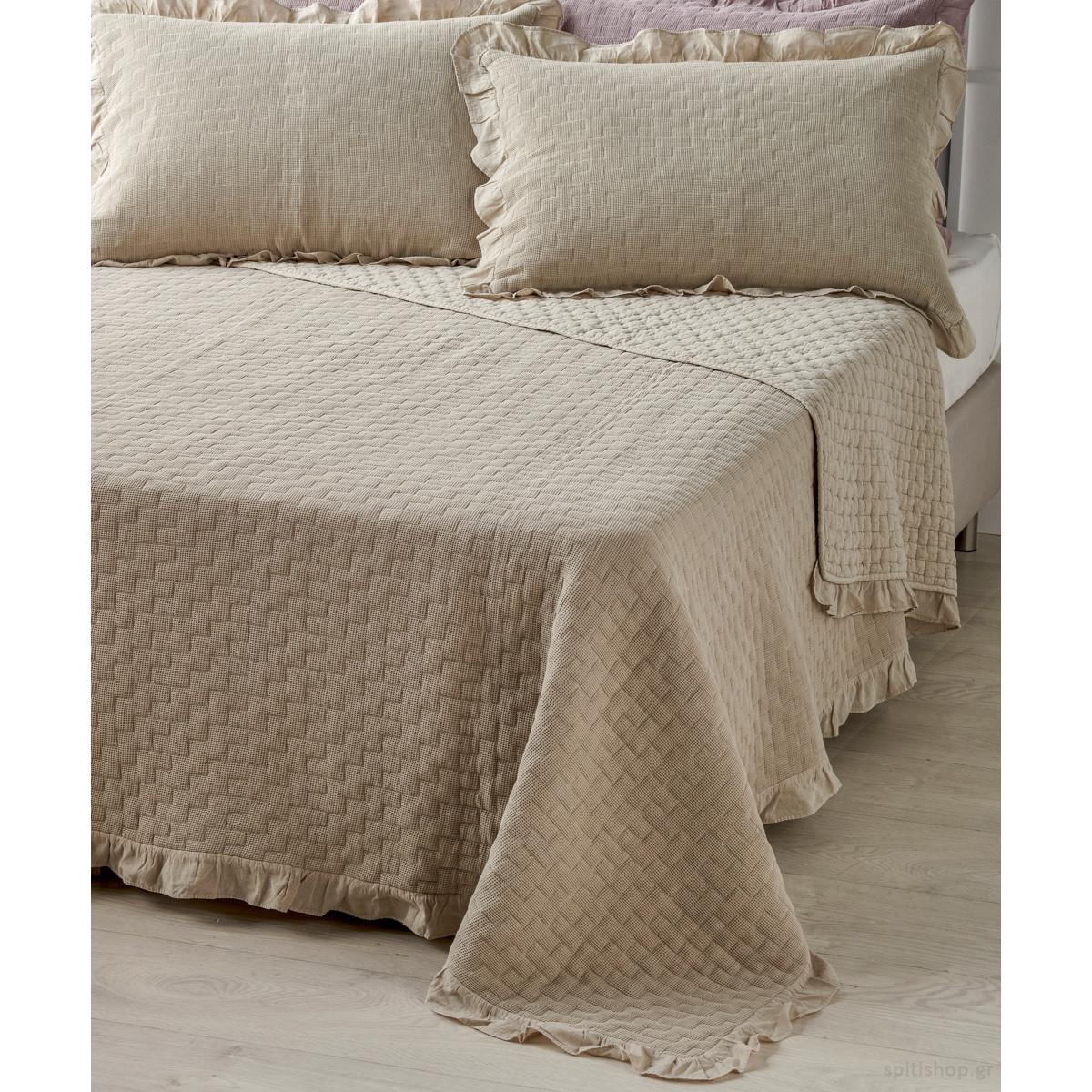 Κουβερτόριο Υπέρδιπλο 2 Όψεων Kentia Stylish Amalfi 26 home   κρεβατοκάμαρα   κουβέρτες   κουβέρτες καλοκαιρινές υπέρδιπλες
