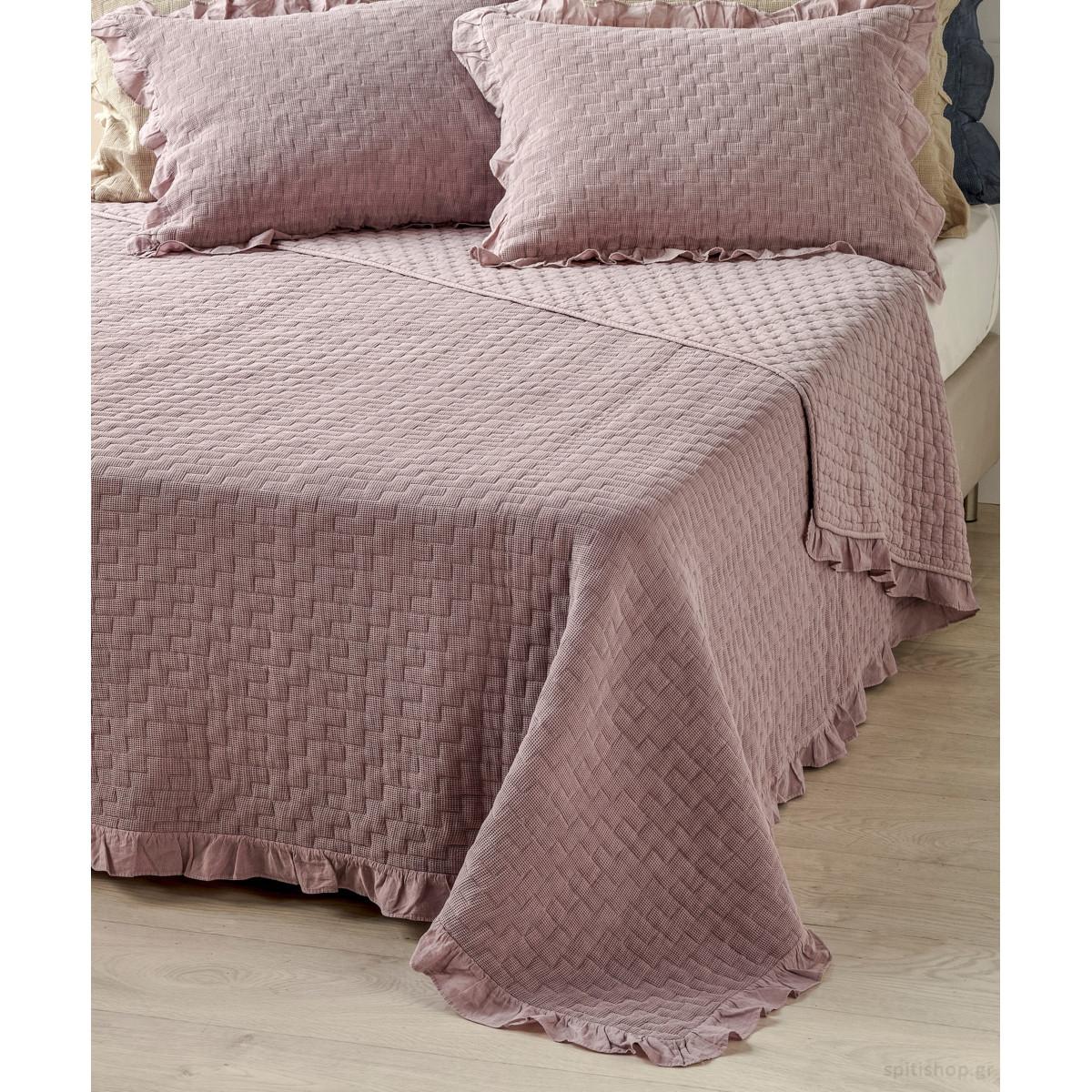 Κουβερτόριο Υπέρδιπλο 2 Όψεων Kentia Stylish Amalfi 35 home   κρεβατοκάμαρα   κουβέρτες   κουβέρτες καλοκαιρινές υπέρδιπλες