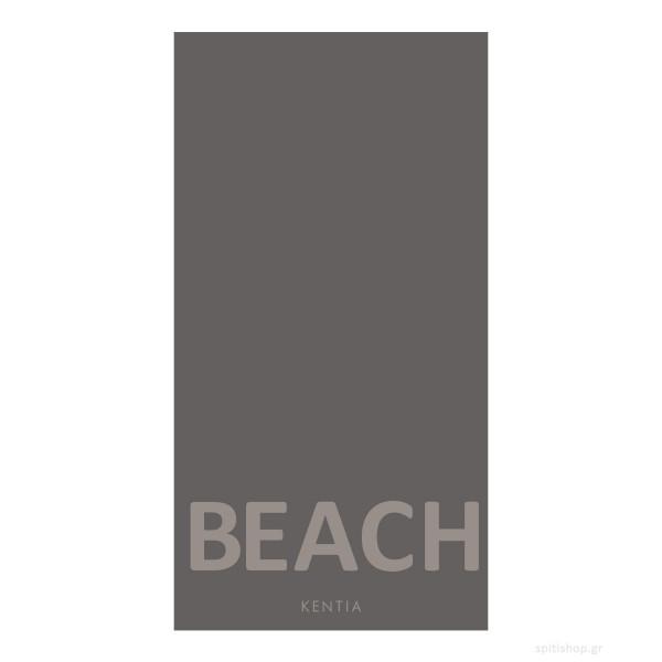 Πετσέτα Θαλάσσης Kentia Minimal 22