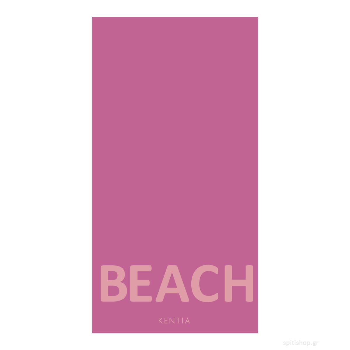 Πετσέτα Θαλάσσης Kentia Minimal 27