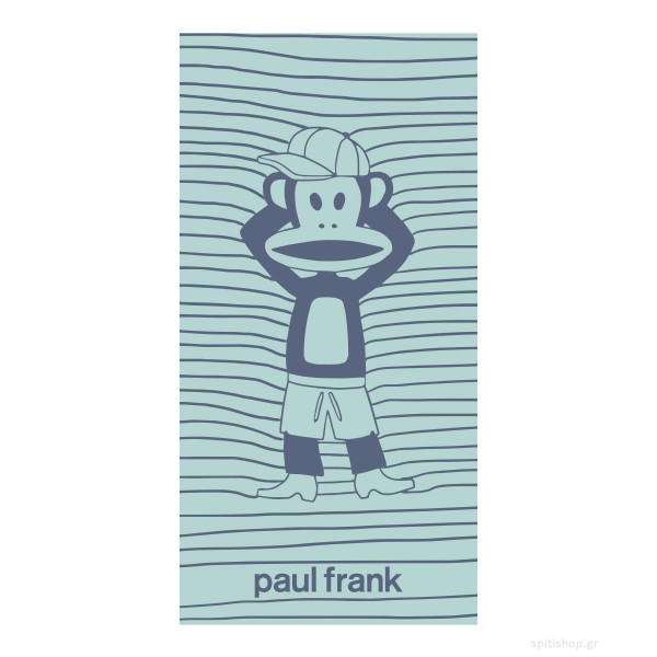 Παιδική Πετσέτα Θαλάσσης Kentia Paul Frank 19
