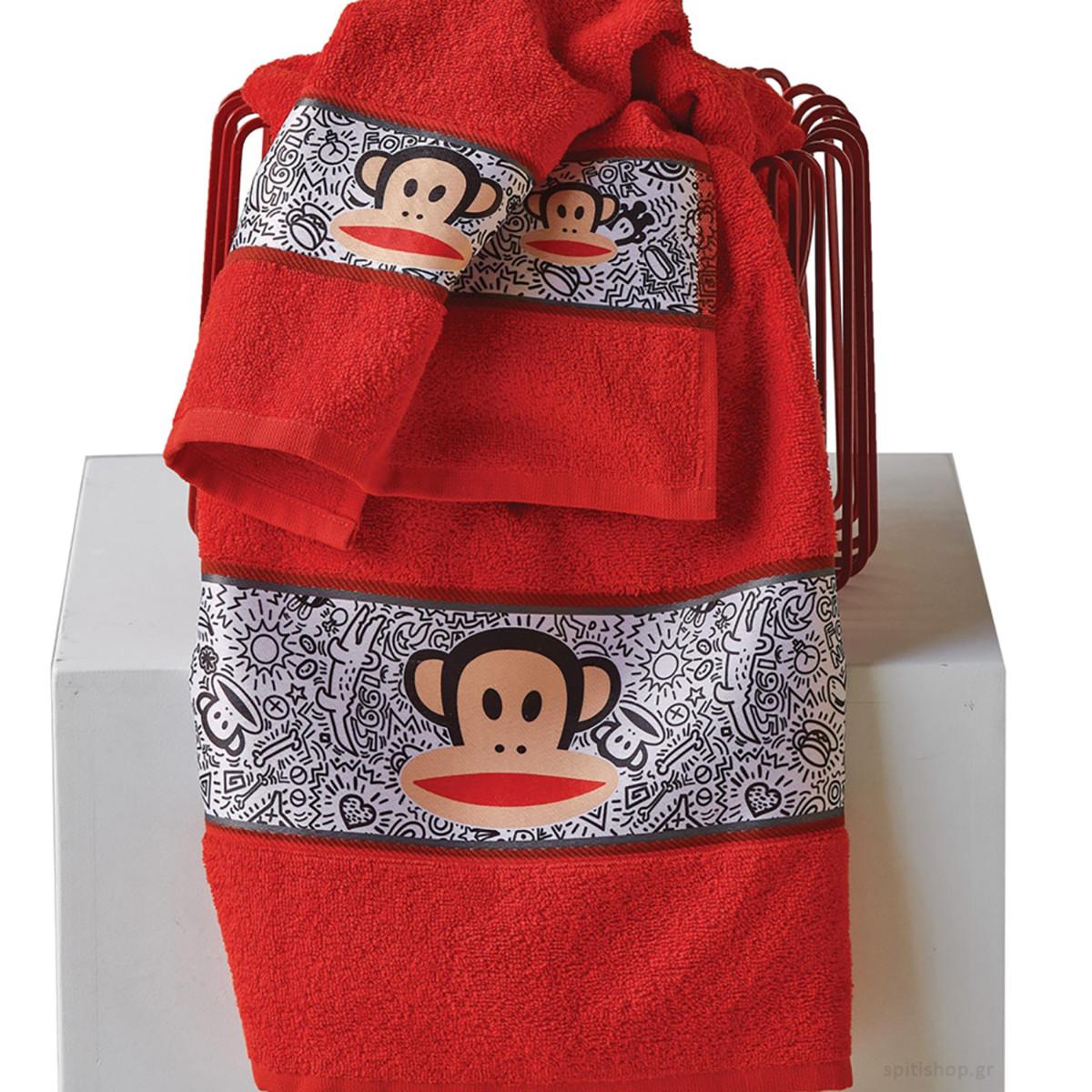 Παιδικές Πετσέτες (Σετ 2τμχ) Kentia Kids Paul Frank 17