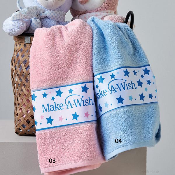 Παιδικές Πετσέτες (Σετ 2τμχ) Kentia Make A Wish