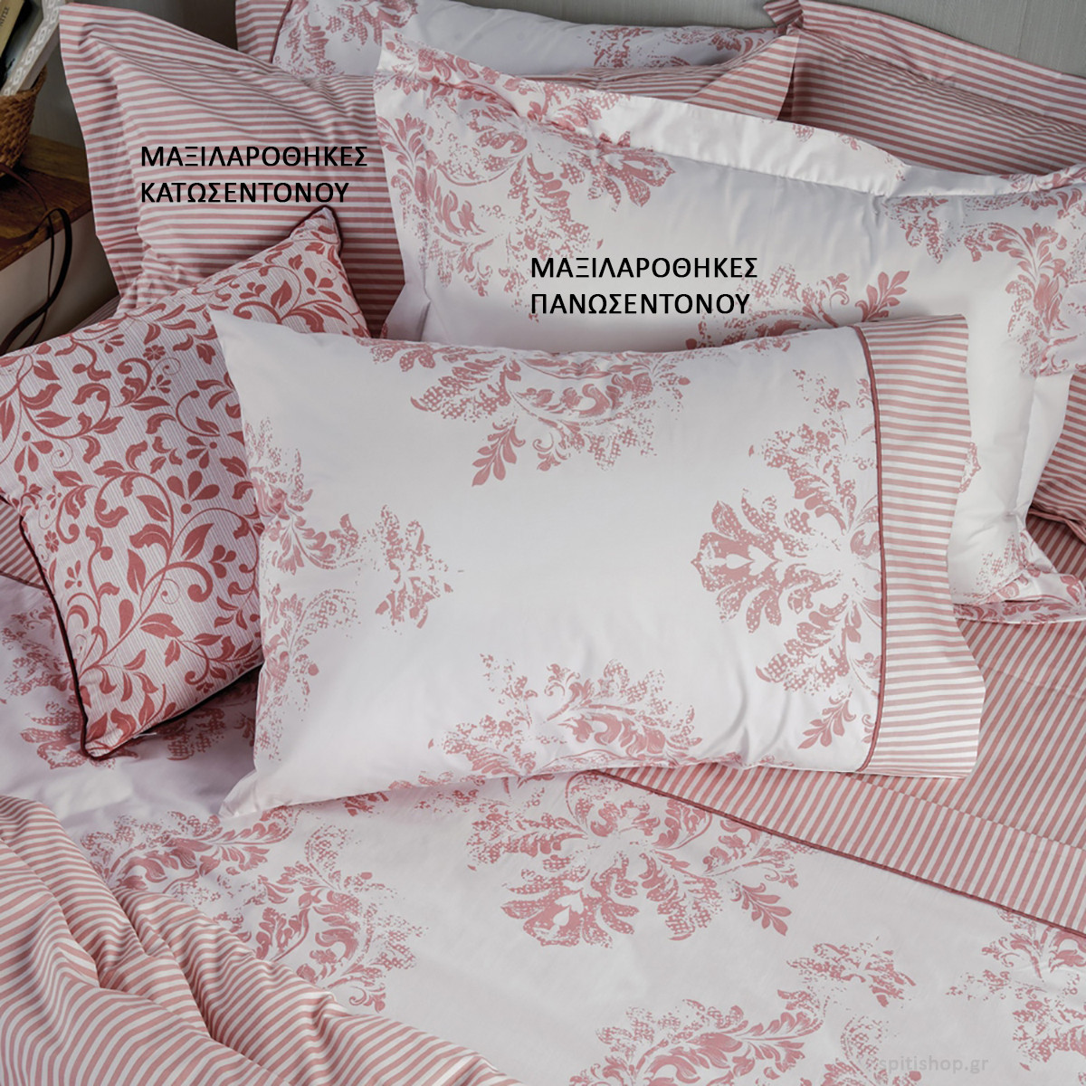 Ζεύγος Μαξιλαροθήκες Kentia Stylish Epoca 18 home   κρεβατοκάμαρα   μαξιλάρια   μαξιλαροθήκες