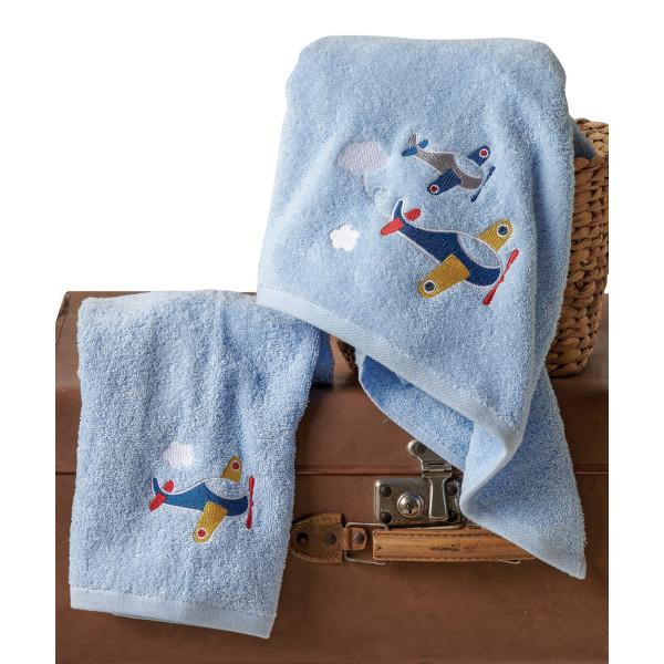 Παιδικές Πετσέτες (Σετ 2τμχ) Kentia Baby Wings