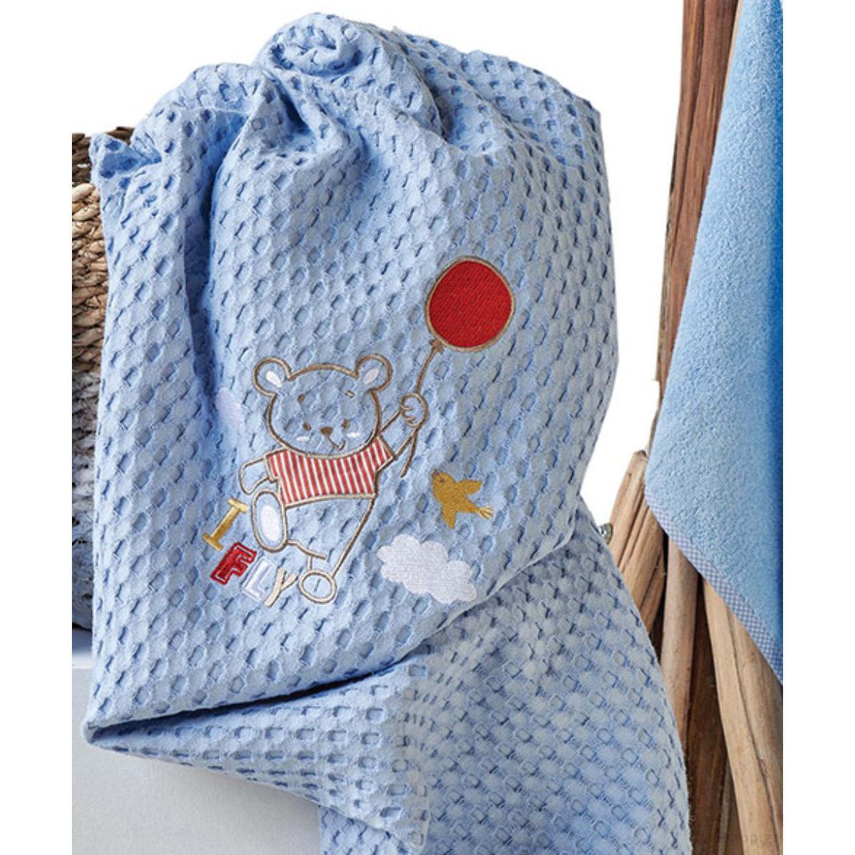 Κουβέρτα Πικέ Αγκαλιάς Kentia Baby Balloon home   βρεφικά   κουβέρτες βρεφικές   κουβέρτες καλοκαιρινές