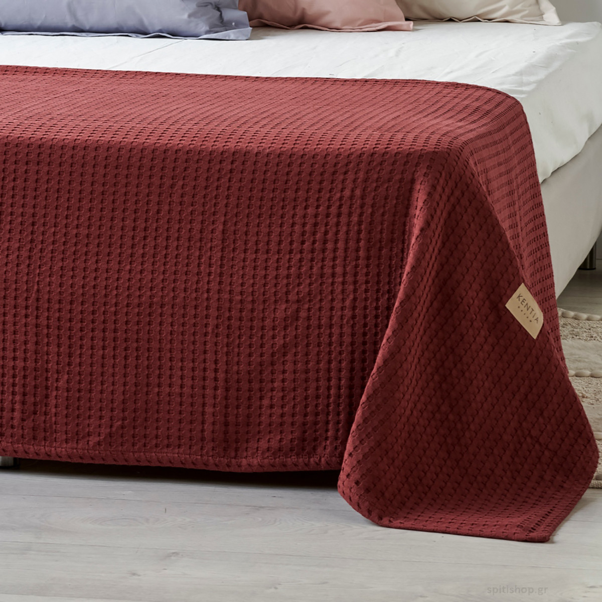 Κουβέρτα Πικέ King Size Kentia Loft Mariner 05 home   κρεβατοκάμαρα   κουβέρτες   κουβέρτες πικέ υπέρδιπλες