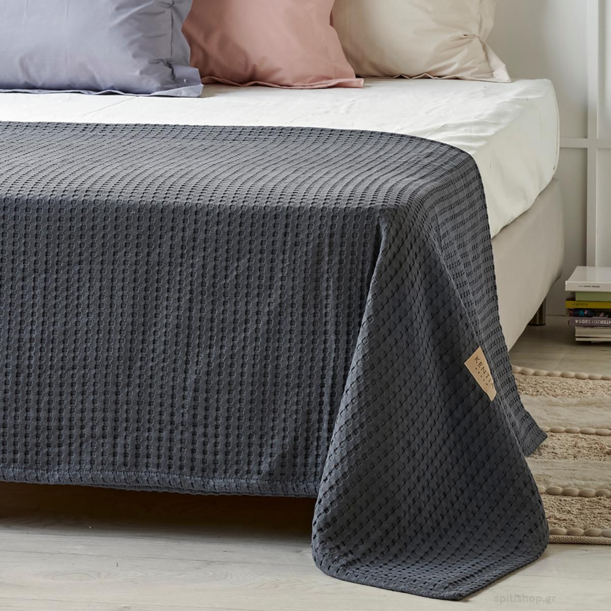 Κουβέρτα Πικέ Μονή Kentia Loft Mariner 240 home   παιδικά   κουβέρτες παιδικές   κουβέρτες καλοκαιρινές